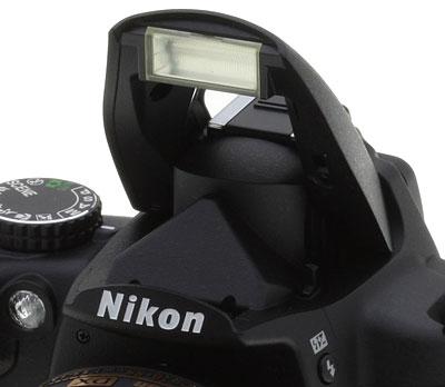 Camera integrated flash