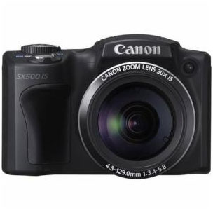 Canon PowerShot SX 500 IS front