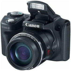 Canon PowerShot SX 500 IS